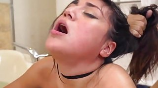 Perky latina first time Lexy Bandera get's
