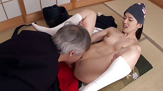 Fabulous Japanese model Saori Maeda in Hottest JAV censored Fetish, Small Tits video
